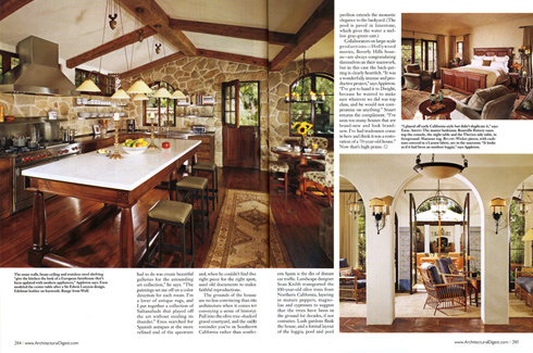 architectural digest magazine - press - enos | reese + co.