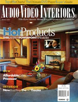 Audio Video Interiors Magazine   Press