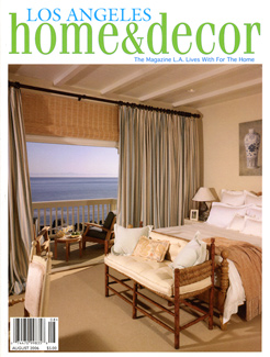 Home  Decor Magazine on Los Angeles Home   D  Cor Magazine   Press   Enos   Reese   Co